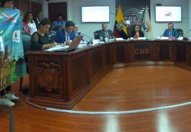 [BOLETÍN] Ante la negativa de tratar la Consulta Popular del Yasuní en el pleno del CNE